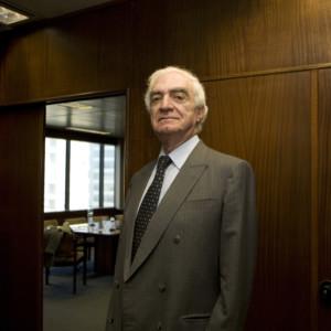 João Salgueiro, presidente da Associação Portuguesa de Bancos. Lisboa, Dez. 2009